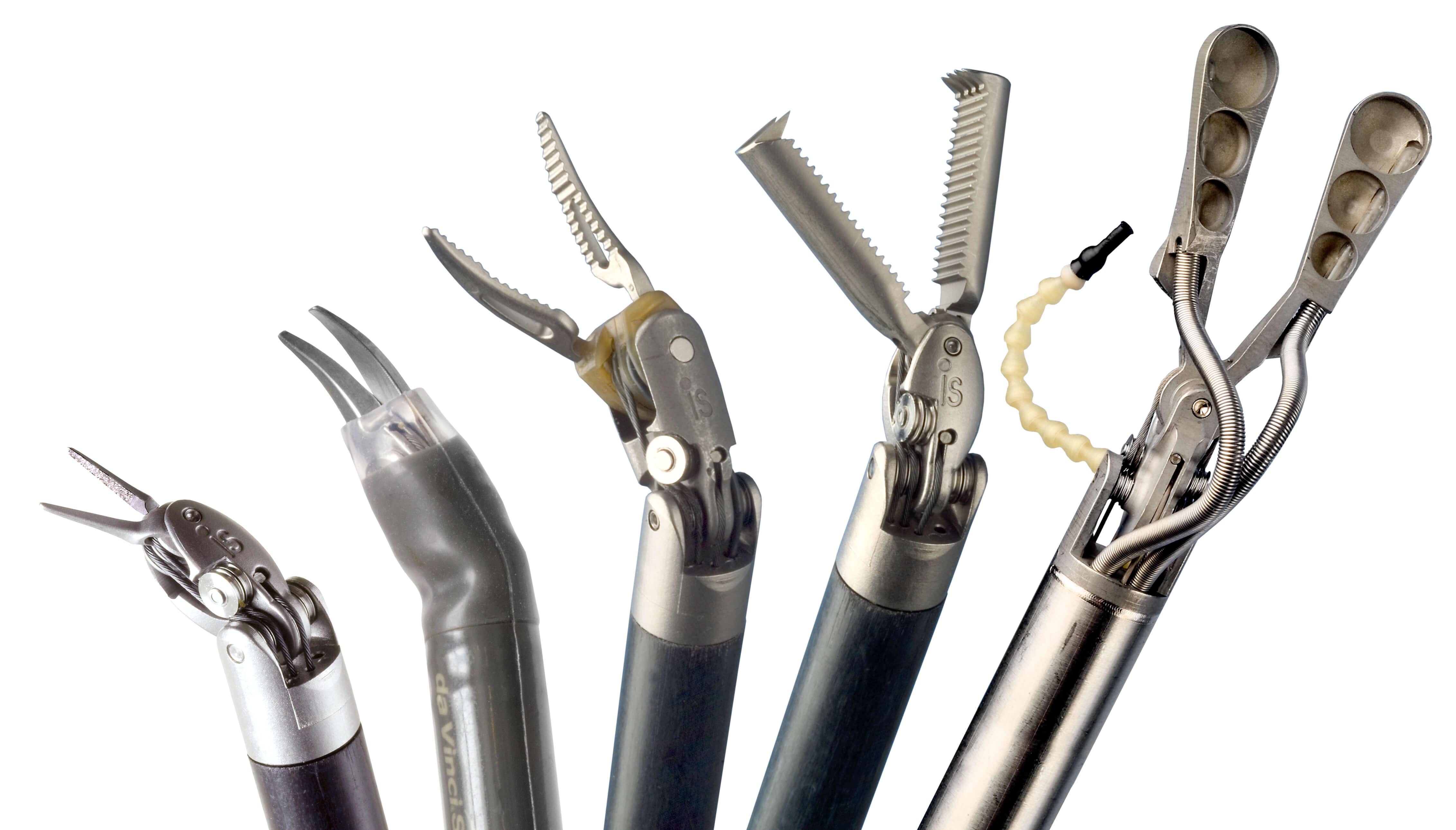 达芬奇手术机器人各种手术工具