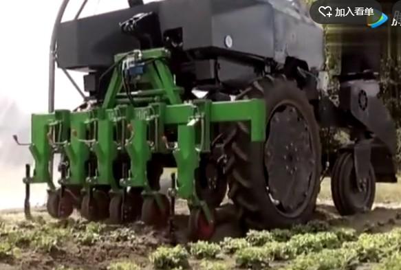农业智能机器人白天晚上都可干活