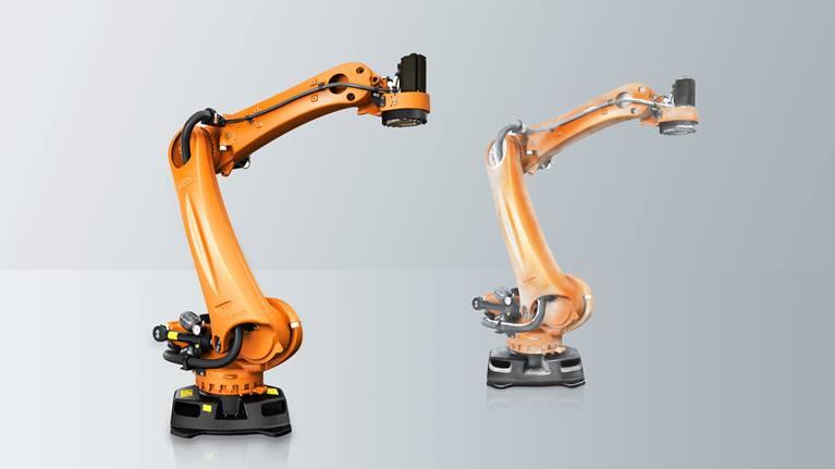 KR QUANTEC PA 是市场上最快、最强大和最精确的货盘堆垛机器人。