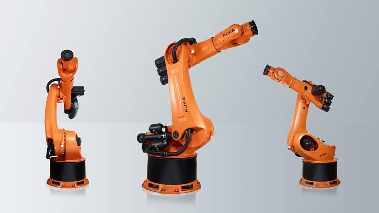 KR 500 FORTEC 是我们推出的一款用于重载领域的多功能六轴机器人。