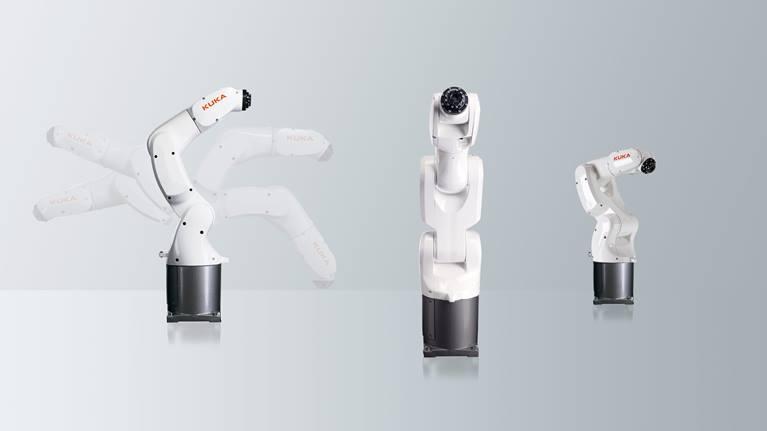 小巧、敏捷、精准:KUKA通过 KR 3 AGILUS 为 3 公斤负载级别机器人树立新标杆。
