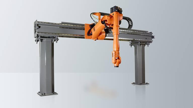 KR 30 JET该机器人系统非常适合用于将多台机械联机