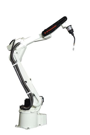 BA006L 概述:  负载 6 kg 轴数 6 伸展距离 2,036 mm 重复性 ±0.08 mm