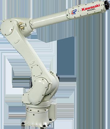 RA006L 概述:  负载 6 kg 轴数 6 伸展距离 1,650 mm 重复性 ±0.03 mm