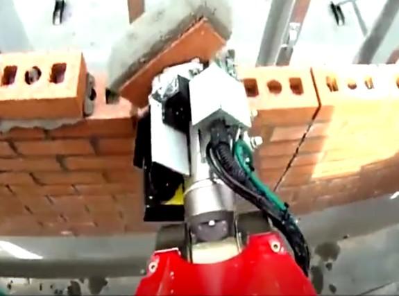 智能砌墙机器人一天一栋房