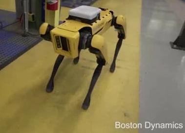 波士顿动力SpotMini机器狗
