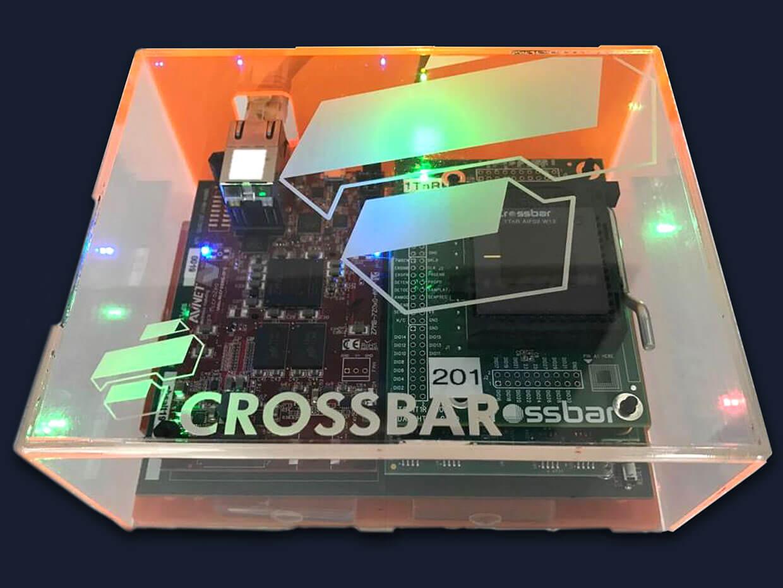 Crossbar将电阻式RAM推入嵌入式AI