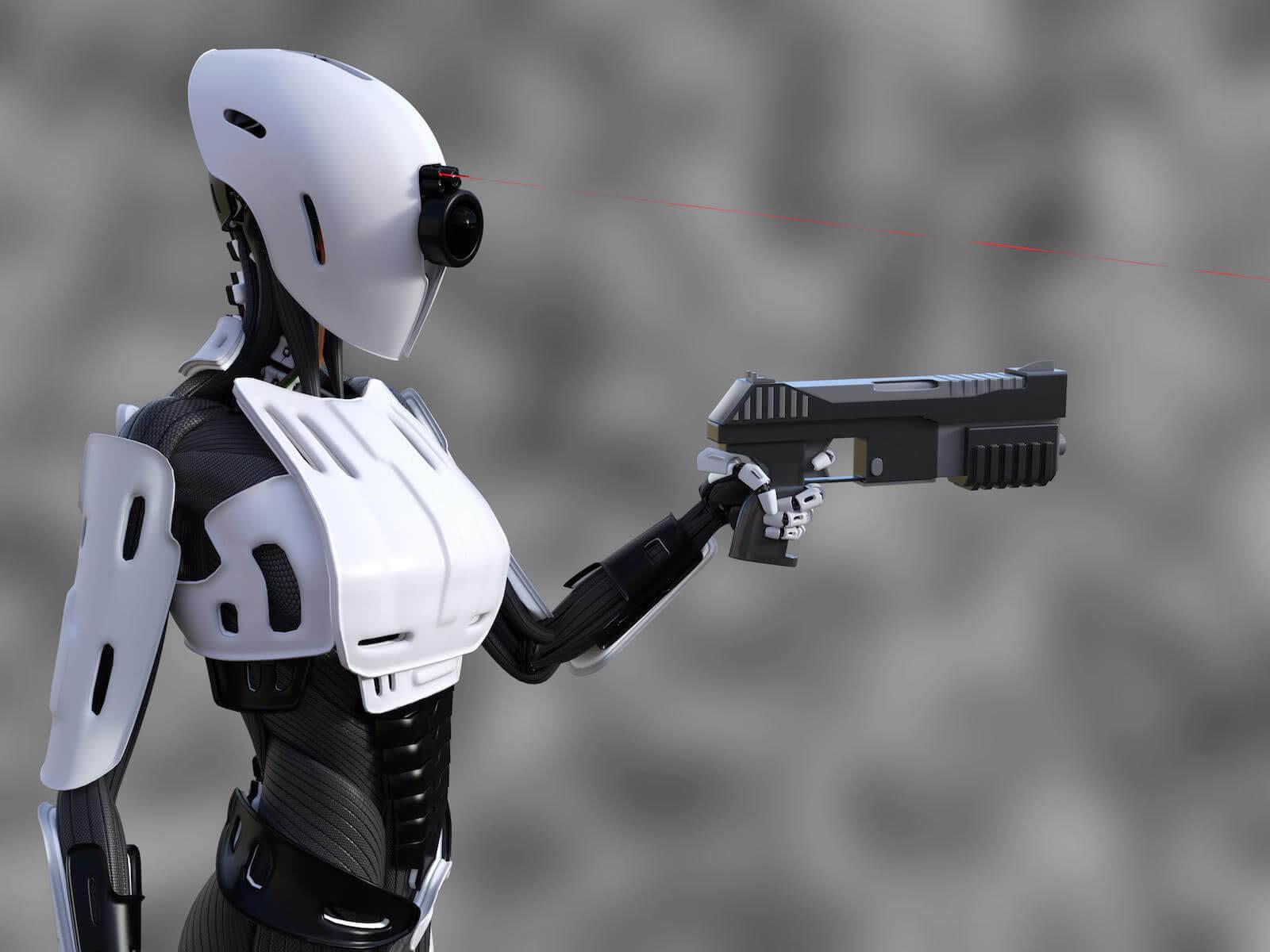 """韩国科技院研制出智能机械人""""黑武器"""" 神奇操作看呆众人"""