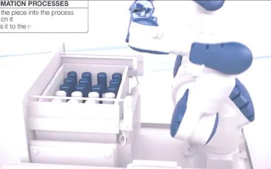 日本15轴工业机器人大开眼界