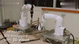 智能机器人20分钟装一把餐椅
