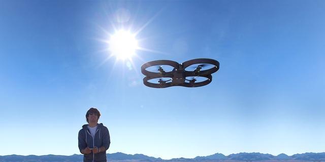 """用无人机开发「天眼」技术 真的能避免""""暴力""""行为吗?"""