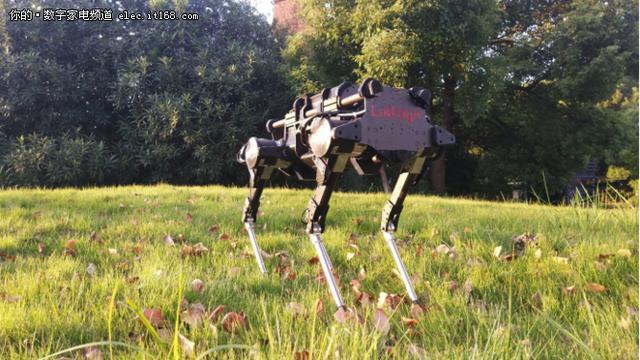 黑科技降临零一科技节 中国版大狗了解一下