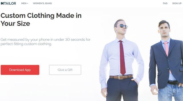 人工智能驱动的男装定制初创公司 MTailor完成A轮融资