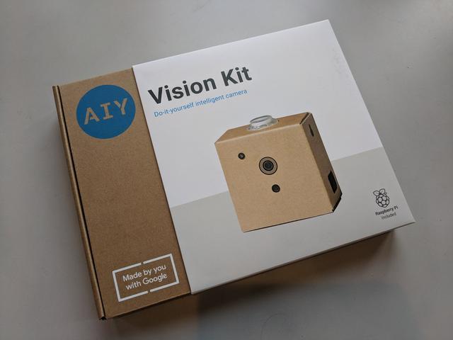 谷歌最新DIY人工智能套件,增加Raspberry Pi和SD卡