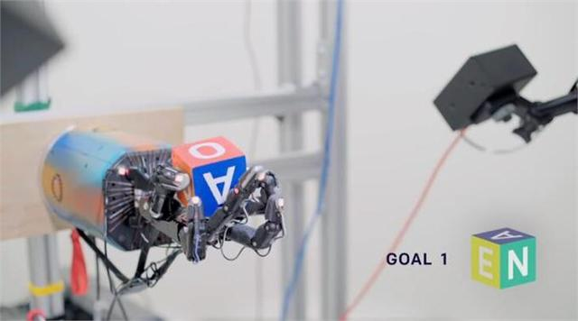 OpenAI利用人工智能教机器人操纵物体 为灵活性设定新基准