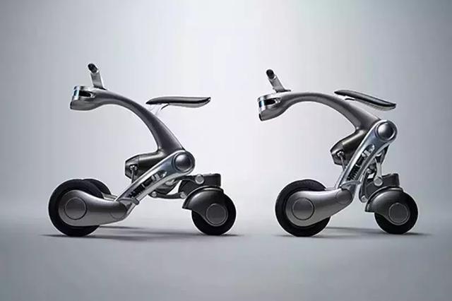 岛国推出了可变形的摩托车机器人 就是速度有点慢!