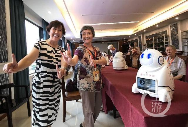 养老院引进机器人 陪老人们聊天、唱歌、排解孤单……