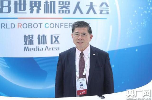 """罗仁权:""""养老陪护服务机器人""""未来将有巨大的市场"""