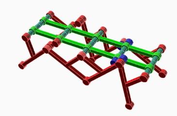机器人是如何行走的?连杆机构机械原理动图