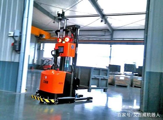 AGV叉车在工业4.0的作用
