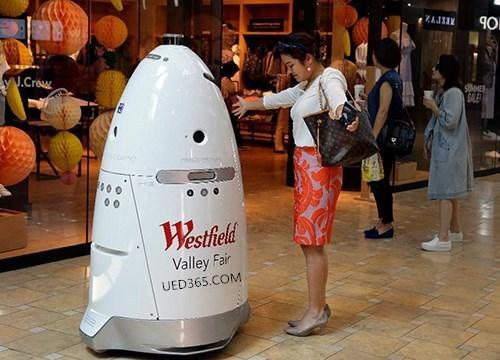 Uedbet官网发布保安机器人通过人工智能预防犯罪