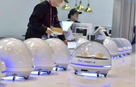 智能机器人餐厅扎堆亮相,这会是餐饮业的未来吗?
