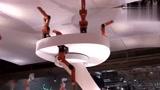 工业机器人展上的灵活机器人