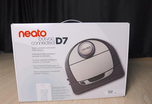 Neato D7扫地机器人体验评测