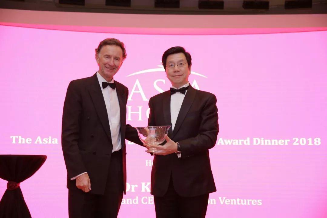 李开复博士荣获2018 Asia House 亚洲商界领袖奖