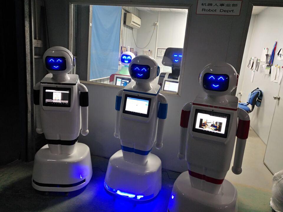 深圳全智能商务迎宾机器人