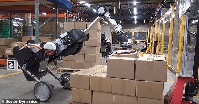 """实力抢饭碗!波士顿动力推出""""搬砖""""类鸵鸟机器人"""