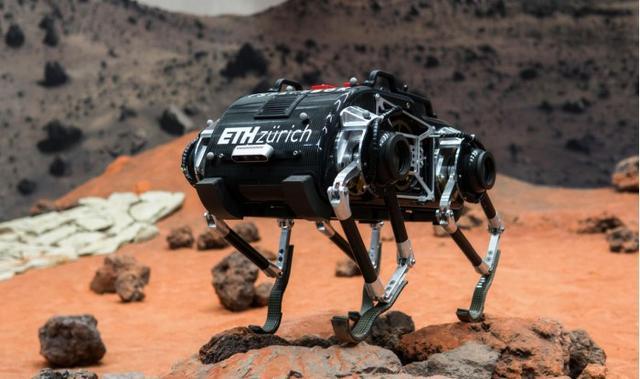 专为太空探索设计的跳跃机器人SpaceBok