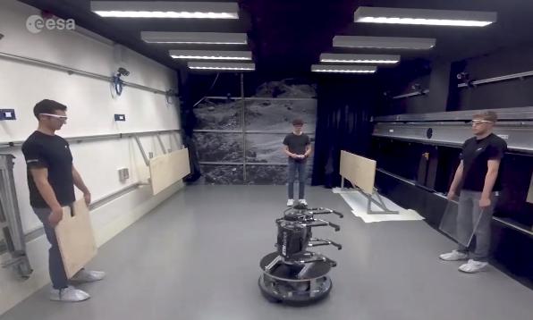 SpaceBok太空探索跳跃机器人