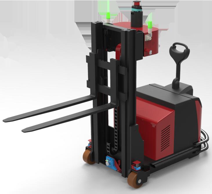 科钛顶升式IGV自动化搬运机器人