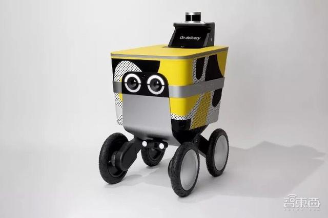"""旧金山送货机器人""""持证上路""""测试,单次负重50磅可跑30英里"""