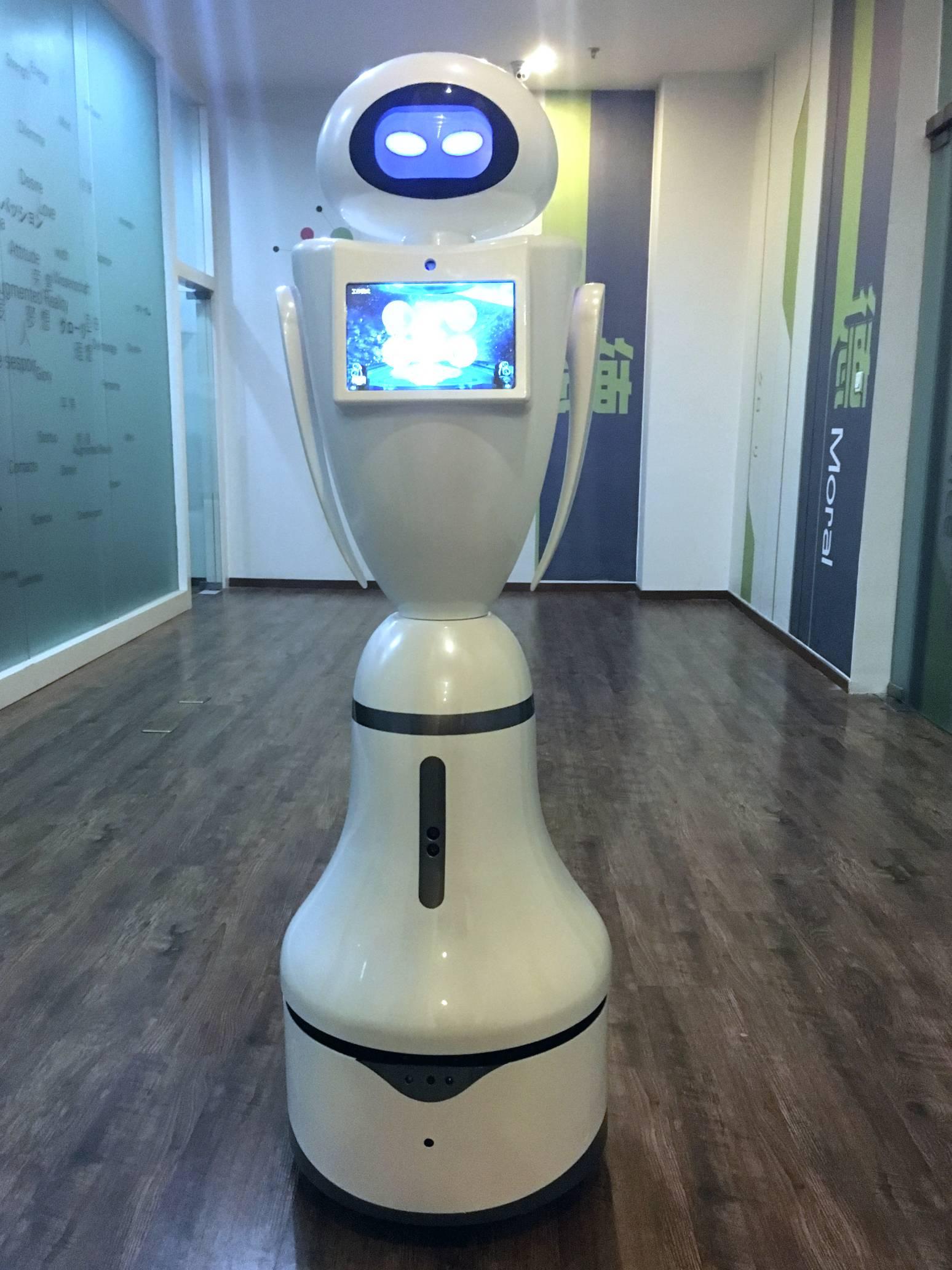 江智迎宾接待导览讲解咨询服务机器人