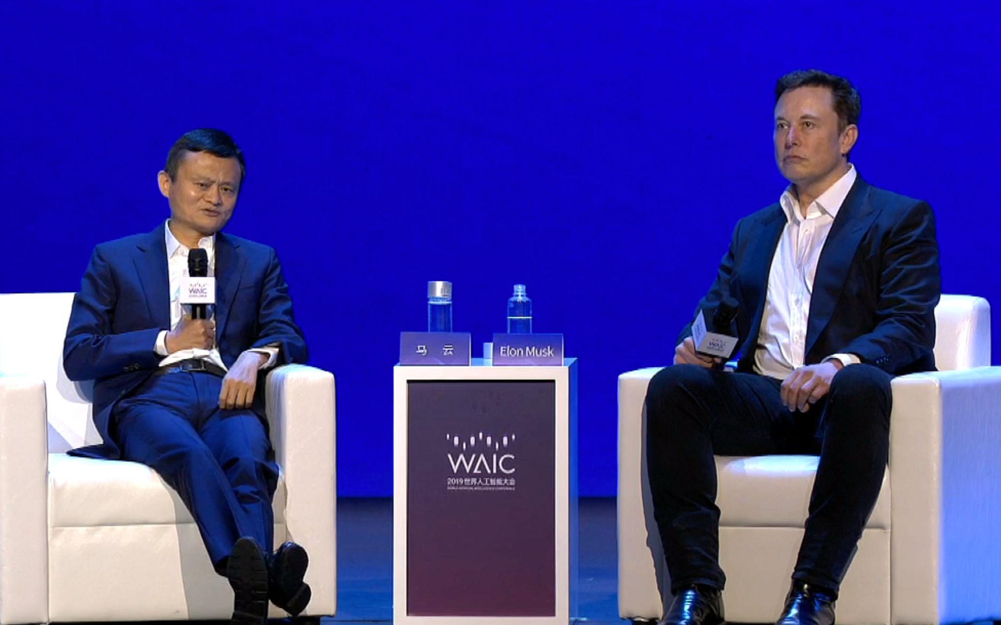 双马对话开始!马云和马斯克:AI会否威胁人类,移民火星还是留在地球?