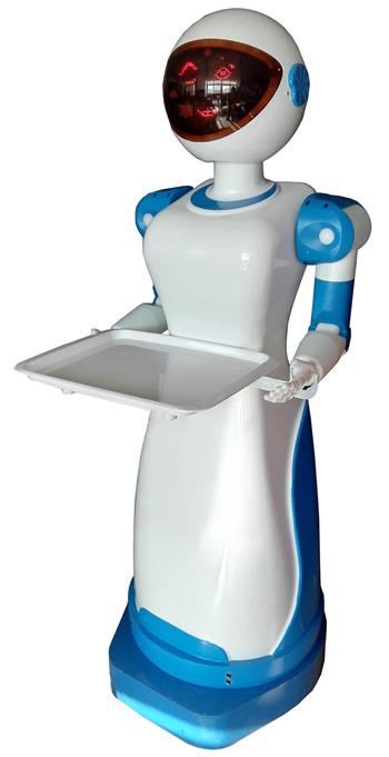 智伟达智能送餐车机器人