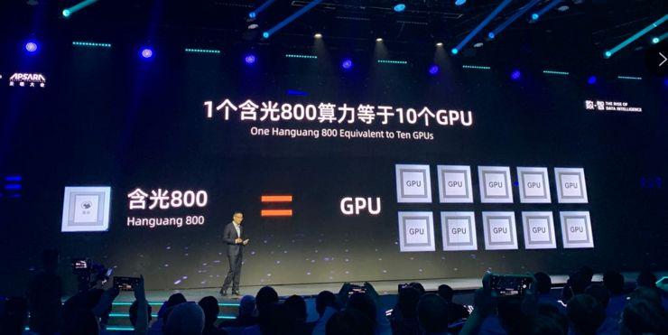 阿里发布AI芯片 参与百亿市场竞争