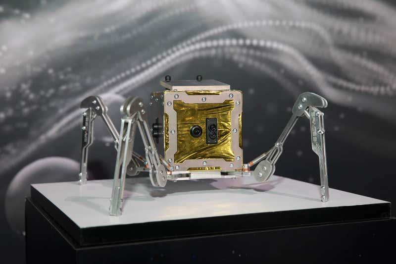 英国首台月球车是个小型四腿机器人 将于2021年登月