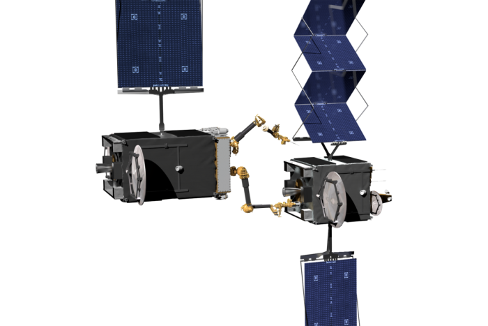 DARPA与诺斯罗普·格鲁曼合作制造机器人服务卫星
