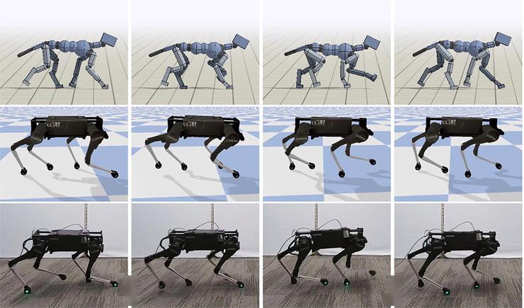 谷歌最新AI技术让机器人更好的模拟动物行为