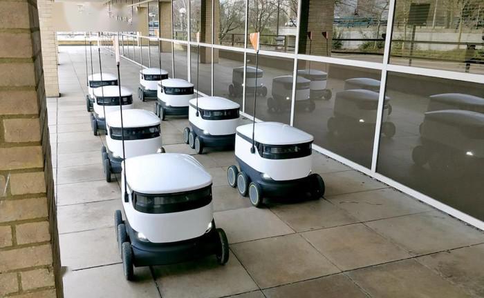 特殊时期,Starship自主机器人配送业务在更多城市上线