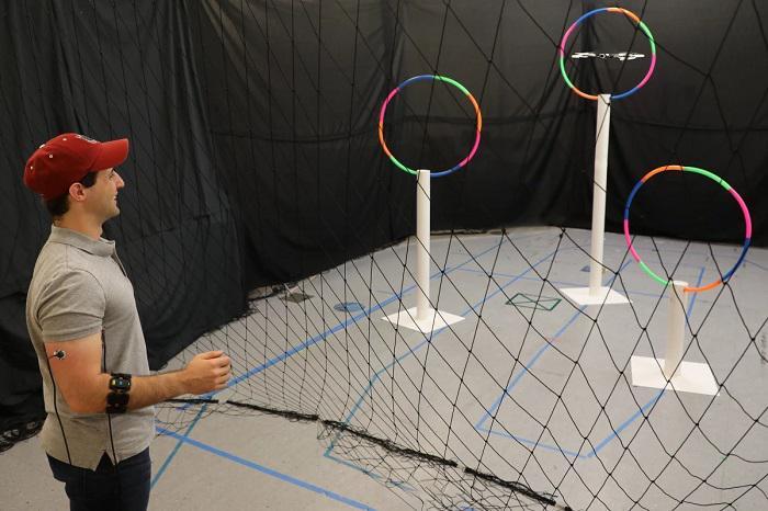 MIT研究人员展示用肌肉信号来控制无人机